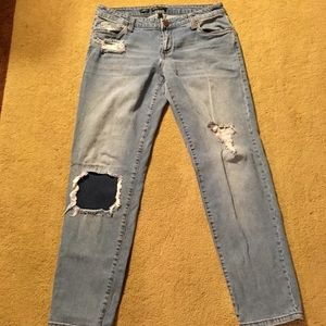 STS Blue Jeans - Boyfriend distressed jeans by STS Blue